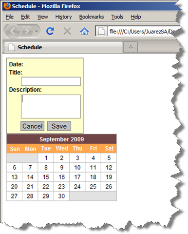 Creating Advanced ASP NET MVC Controls (Part 3, A Scheduler) :: Seth
